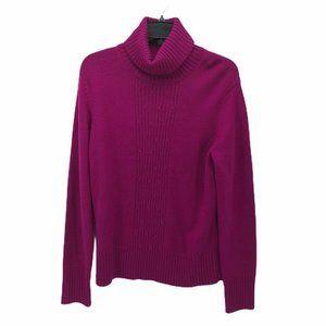 Ann Taylor Womens Pullover Sweater Purple Sz L New